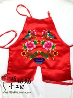 Handmade embroidery apron belt bellyached
