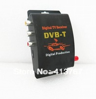 Car TV Tuner DVB-T MPEG-4 Digital TV Receiver Mini TV Box