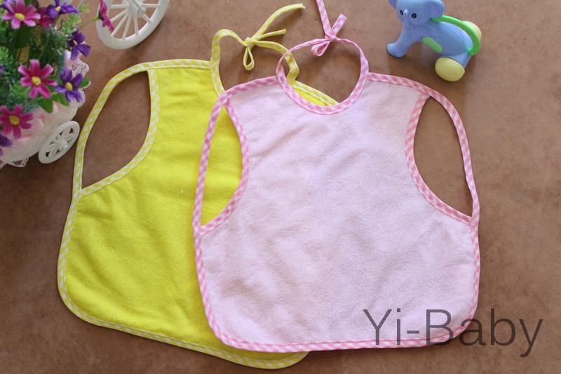 Free shipping YB0015 Burp Cloths Infant saliva towels Baby bib Baby waterproof bib 12PCS/Set(China (Mainland))