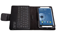 Designer Brand Wireless Bluetooth Detachable Stand Holder Keyboard Leather Cases Cover For Samsung Galaxy Tab 3 P3200 P3210 T210