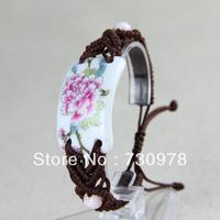 Jingdezhen ceramic accessories trend chinese national style bracelet elegant vintage multi-layer free shipping
