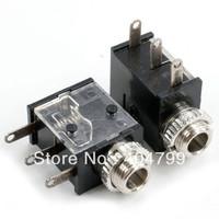 """20pcs,1/8"""" 3.5mm Female Phono Mono Panel Phone Jack socket screw w washer ,2233"""