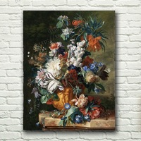 Entranceway decorative painting paintings frameless painting flowers