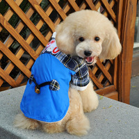 Pet supplies pet clothes 2013 new winter horn button jacket pet dog clothes S-XXL