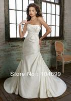 Hot sale wedding  Dress Style Style 1217 Silk Shantung Mermaid
