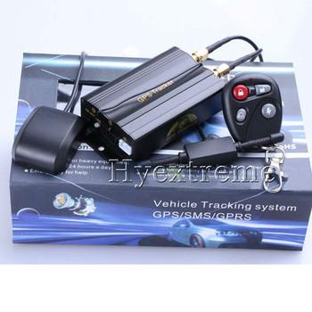 Car Tracker GPS TK103B Tracking System Remote Control Tracking System +Shock Snesor