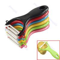 D191pc Kitchen Ultra Sharp Ceramic Cutlery Vegetable Fruit Peeler Paring Knife