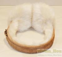 fashion fake wool shearling double U buckle earmuffs warm earmuff for winter free shipping