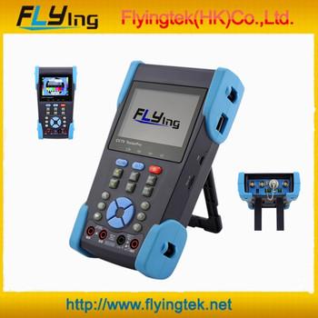 Muiltifunction meter/CCTV tester Portable cctv monitor PTZ Test RJ45 Cable CCTV Tester