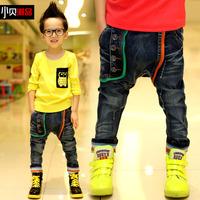 Retail 1 pcs spring Autumn 2013 children's pants baby boy jeans kids trousers New Design High quality CC0675