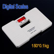 White Digital Bathroom Body Weight Scale 150 X 0.1KG ,wholesale(China (Mainland))