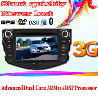 "7"" toyota RAV4 dvd player with 3g surf internet dual core gps tv bt multimedia radio russian osd free shipping"