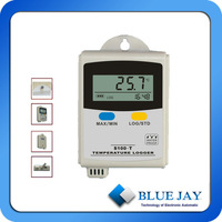 S100-T+ Temp. and Humid. Data Logger, 43,000 log readings, Selectable C or F, LCD display shows high/low and last reading
