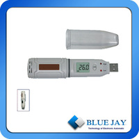 HE172 USB Temperature and Humidity Data logger, Free configuration and graphing software, Selectable C or F