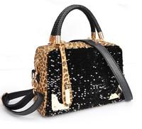 Retail and Wholesale  fashion 2013 tassel small bags mini messenger bag genuine leather Leopard women's handbags designers bags