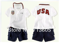 Free shipping, retails, kids clothes set,kids clothes set, T shirt+ jean pants,2 in 1,no cap  1set/lot