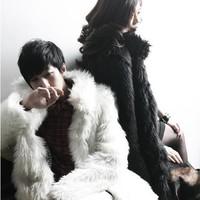2013 luxury elegant high quality faux fashion all-match lovers quality fur coat female