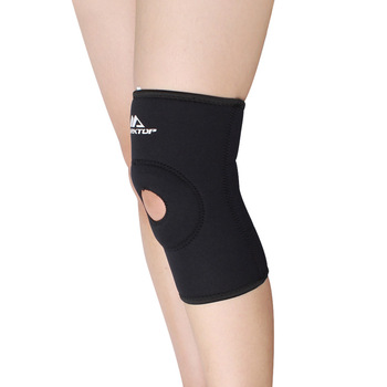 Top sports kneepad high quality t cloth breathable flanchard hiking cuish kneepad m5023