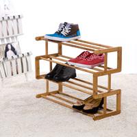 Top exquisite bamboo shoe hanger creative home fashion shoes rack