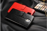 New Designer Luxury Retro Flip Wallet Credit Card Magnetic Stand Real Leather Case Cover For Samsung Galaxy Note 3 III N9000 Bag
