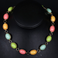 (MOQ is $10) Ruddy  New Arrivial  Colorful Chokers Nacklace Fashion Simple Partysu Jewelry  for Lady Free Shipping