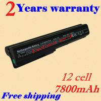 Laptop Battery For HP HDX X18-1100 X18-1200 HDX18 HDX-1000 Pavilion dv7 dv7-1000 dv7-1100 dv7-2100 dv7-2200 dv7-3000 12cells