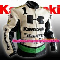 the china PU leather motorcross RACING jackets unique winderproof  waterproof winter MOTORCYCLE jacket size S -- XXL