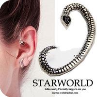 Cheapest is $10(mixed) Hot retro Ear Clip Jewelry cz diamond punk earhook Stud earrings Wholesale ED-028