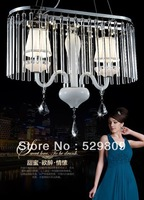 Free shipping modern crystal lamp / K9 crystal restaurant lights LED lights / bar lamp / rectangular crystal chandelier / lamps