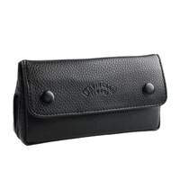 2014 Promotion New Free Type Free Shipping! Savinelli Smoking Pipe Bag Double Buckles Leather Single Tobacco Innumeracy
