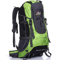 Aigrettes outdoor male Women outdoor mountaineering backpack bag 50l 55l 0962 isolation