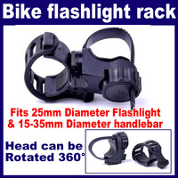 3 pcs/Lot_25mm Flashlight LED Torch Bicycle Bike Cycling Mount Holder 15-35mm handlebar