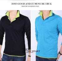 Hot sale best selling long sleeve t-shirts for men casual mens t shirt 4 colors M/L/XL/XXL/3XL