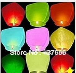 Wholesale 5pcs/lot Heart Shaped Chinese Sky Lantern & Kongming Lantern & Loving Lantern Free Shipping(China (Mainland))