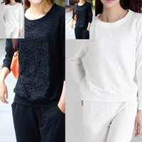2013 autumn casual set autumn plus size clothing plus size mm long-sleeve T-shirt set loose
