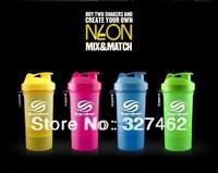 Sellington HOT Shake Bottle  Neon 20oz 600ML  Fitness Sports Bttle , Water Bottle + FREE SHIPPING