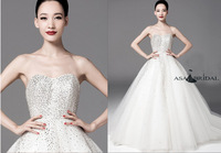 2014 New Style Swarovski Wedding Dress(WDSB-1026)