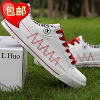 Summer male shoes male fashion skateboarding shoes male casual shoes breathable shoes low-top