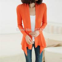 Drop Shipping!2014 HOT SALE Sweater women winter -autumn Blouse Women Sweater Cardigan