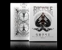 New Arrival Bicycle Poker WHITE GHOST Best Playing Cards Magic Poker Bicycle Drop Shipping