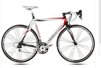 New 2013 Pinarello FP2 Carbon White Red Complete Bike 44, 47