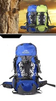 Wholesale 2013 Oxford Hiking Backpack Bags Outdoor Sport Hiking Shoulder Large Backpack Bag 50L  Blue And Green