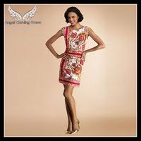 Free shipping 2013 Sleeveless Stretch Jersey Slim Mini Dress  J162