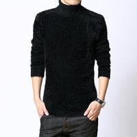 Mrfrak turtleneck sweater male men's the trend of basic turtleneck shirt autumn and winter thickening
