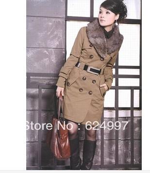 2013-Women-s-Cotton-padded-Jacket-Fur-Collar-Large-Long-Coat