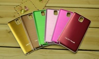 5pcs Free shipping newest colorful metal battery drawing cover back case for Samsung Galaxy Note3 N9000