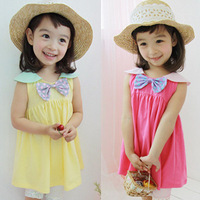 Clothing female child 2013 summer one-piece dress baby suspender skirt tank dress girl z