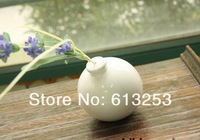 Europe Abstract Expressionism 3D Ball Shape Ceramic Art Flower Vase.Household Decorative White Flower Pot. Wholesale  A0103265