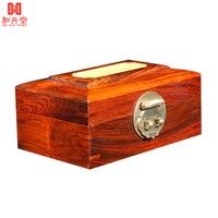 Vintage solid wood stamp box jewelry box desktop storage box jewelry storage box