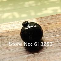 Europe Abstract Expressionism 3D Ball Shape Ceramic Art Flower Vase.Home Decorative Black Flower Pot. Wholesale  A0103266
